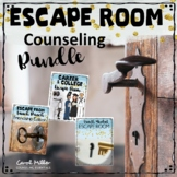 Escape Room Counseling Bundle  (Friendship, Growth Mindset, College and Careers)