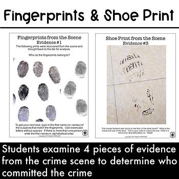 Escape Room - Crime Scene Investigation