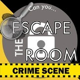 CSI Forensics Escape Room