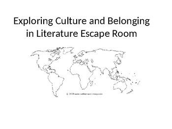 Escape Room: Culture and Belonging Across Novels