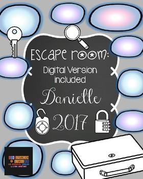 Escape Room:  Danielle