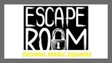 Escape Room Decimal Magic Squares