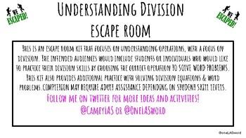 Escape Room-Division