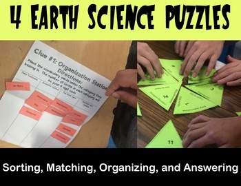 Escape Room - Earth Science Review Game