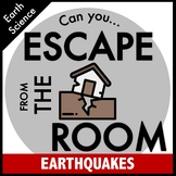 Science Escape Room: Earthquakes