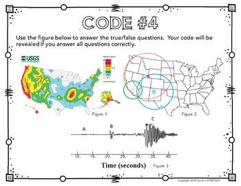 Science Escape Room: Earthquakes