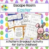 Escape Room: Easter! Patterns Breakout Activity