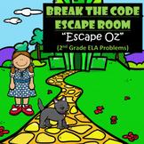 Oz-2nd Grade Digital Escape Room-Distance Learning-Google Forms-Reading