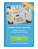 Escape Room: Factoring Complex Trinomials