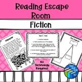Escape Room - Test Prep - Fiction - Middle School