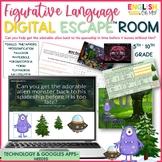 Figurative Language Digital Escape Room, Digital Escape Ⓡ