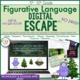 Figurative Language Digital Escape Room, Digital Escape Ⓡ