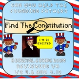 Escape Room: Find the Constitution VS 6 & VS 10 Perfect for New Nations Unit VA