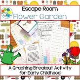 Escape Room: Flower Garden! Graphing Breakout Activity for