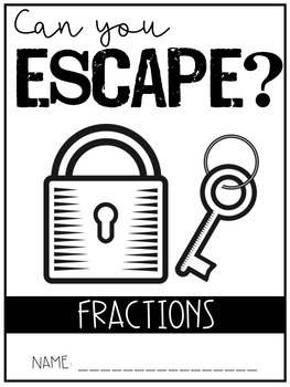 Escape Room - Fractions