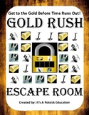 Gold Rush Escape Room - American US History - (Westward Ex