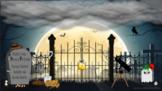 Halloween Escape Room - Graveyard Interactive - 6 unique P