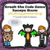 Escape Room (Halloween Mystery)-3rd Grade Math Computation