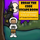 Escape Room (Halloween Trick or Treat)-2nd Grade Language Arts