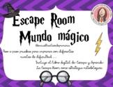 Escape Room Harry Potter  + Libro Escapa o Aprende.