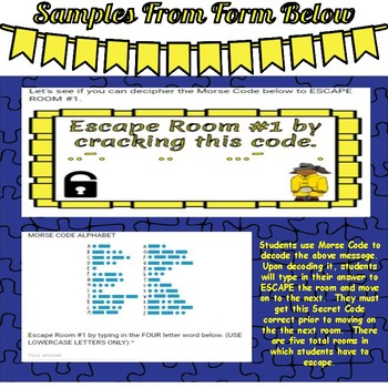 Escape Room-Identifying Decimals--Tenths and Hundredths