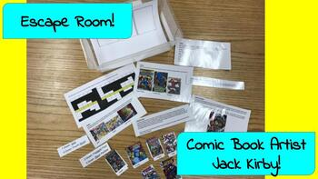 Escape Room: Jack Kirby (Marvel and DC Comic Book Artist)