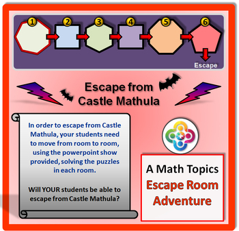 Escape Room - Math