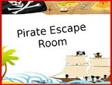 Escape Room Math (Editable)
