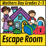 Escape Room: Mothers Day  Math Mom Mystery Grade 2-3