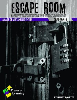 Escape Room Mystery - A Case of Mistaken Identity