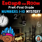 Escape Room Math Mystery Numbers 1-10