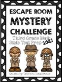Escape Room Mystery: Third Grade Math Test Prep 3.OA.1
