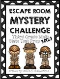 Escape Room Mystery: Third Grade Math Test Prep 3.OA.3
