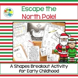 Escape Room: North Pole! Breakout Activity for Pre-K and Kindergarten