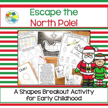 Escape Room: North Pole! Breakout Activity for Pre-K and Kindergarten