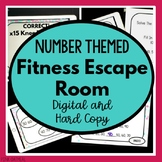 Escape Room - Numbers Version PowerPoint Game