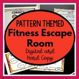 Escape Room - Patterns/Codes PowerPoint Game