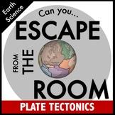 Science Escape Room: Plate Tectonics