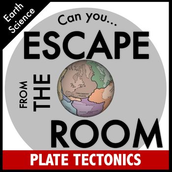 Plate Tectonics Science Escape Room
