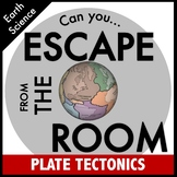 Plate Tectonics Science Escape Room
