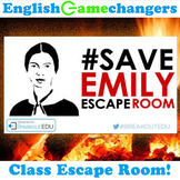 Escape Room: Poetry of Walt Whitman & Emily Dickinson (Breakout EDU)