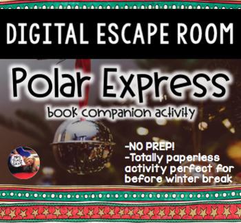 Polar Express Digital Escape Room
