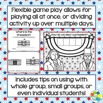 Escape Room: Presidents Day! Positional Words Breakout Activity