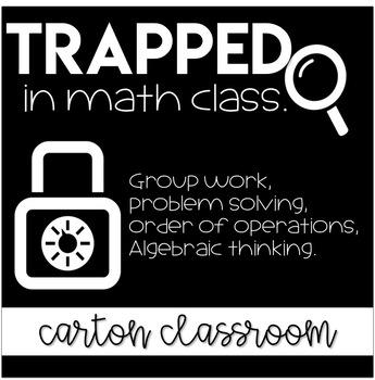 Escape Room Problem Solving Math