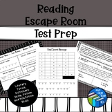 Escape Room - Reading Test Prep - Middle School