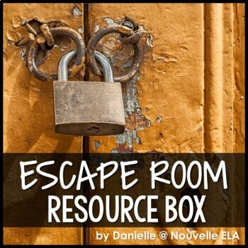 Escape Room Resource Box (Personal Use)