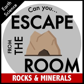 Rocks and Minerals Science Escape Room