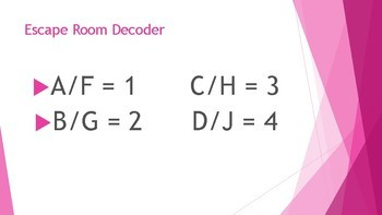 Escape Room-STAAR Questions