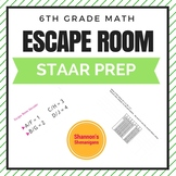 Escape Room-STAAR Questions