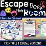Escape Room |  STEM Challenges  |  Chenille Sticks | Digit